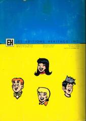 Verso de Archie Sélection -143- Un jour dans la vie...