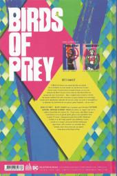 Verso de Birds of prey - Black Canary