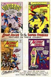 Verso de Superman (1939) -AN02- winter 1960