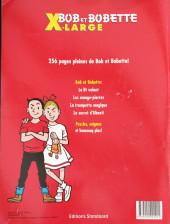Verso de Bob et Bobette (X-LARGE) - X-Large 2008