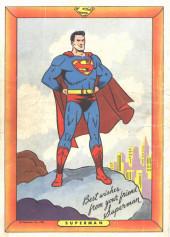 Verso de Superman (1939) -AN03- The Strange Lives of Superman!