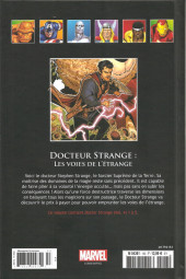 Verso de Marvel Comics - La collection (Hachette) -153118- Docteur Strange: Les Voies de l'Etrange