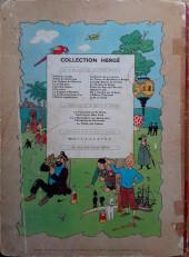 Verso de Tintin (Historique) -2B28- Tintin au Congo
