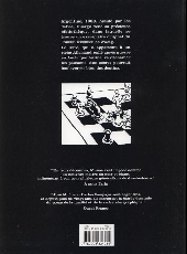 Verso de Le livre (Sampayo,/Muñoz) - Le livre