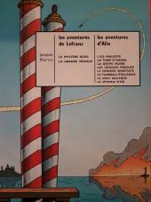 Verso de Lefranc -3a1971- Le mystère Borg