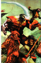 Verso de Marvel Zombies Vs. Army of Darkness (Marvel/Dynamite - 2007) -HS- Dead Days