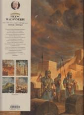 Verso de L'Épopée de la franc-maçonnerie -1- L'ombre d'Hiram