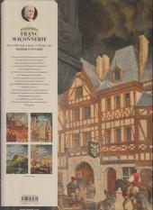 Verso de L'Épopée de la franc-maçonnerie -2- Les bâtisseurs