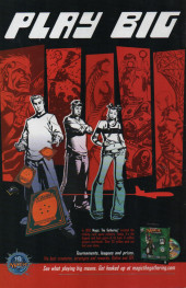 Verso de Authority (The) (2003) -0- The Authority: High Stakes