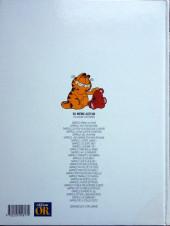 Verso de Garfield -14OR- Lave plus blanc !