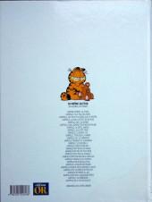 Verso de Garfield -16OR- Fait feu de tout bois