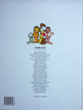 Verso de Garfield -20a1999- Ne se mouille pas
