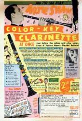 Verso de Man Comics (Marvel Comics - 1949) -1- The Revenge Of James Cortez