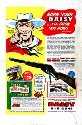 Verso de Man Comics (Marvel Comics - 1949) -4- The Fallen Hero!