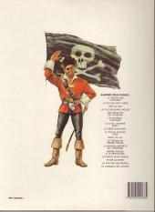Verso de Barbe-Rouge -6d1987- Le vaisseau fantôme