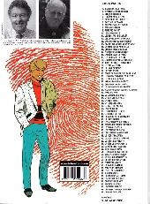 Verso de Ric Hochet -69- L'homme de glace