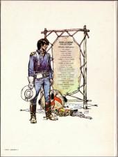 Verso de Blueberry -2d1981- Tonnerre à l'ouest