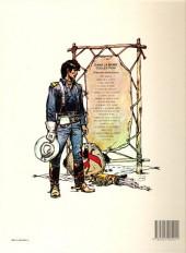 Verso de Blueberry -8c1985- L'homme au poing d'acier