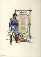 Verso de Blueberry (La Jeunesse de) -1a1980- La jeunesse de Blueberry