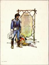 Verso de Blueberry (La Jeunesse de) -2a1981- Un yankee nommé Blueberry