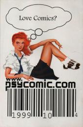 Verso de Planetary (DC comics - 1999) -9- Planet Fiction