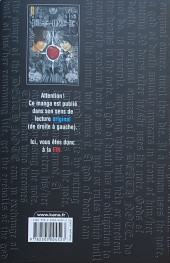 Verso de Death Note -HSb- How to read