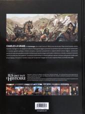 Verso de Ils ont fait l'Histoire -3a2019- Charlemagne