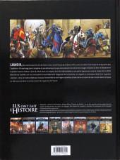 Verso de Ils ont fait l'Histoire -8a2018- Saint-Louis