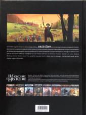 Verso de Ils ont fait l'Histoire -23a2018- César