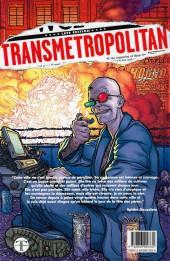 Verso de Transmetropolitan -0- retour dans les rues