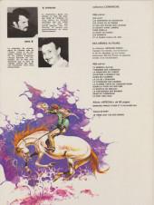 Verso de Comanche -2c1981- Les guerriers du désespoir