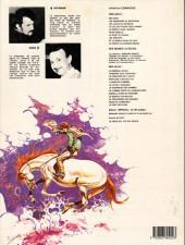 Verso de Comanche -8a1982a- Les shériffs