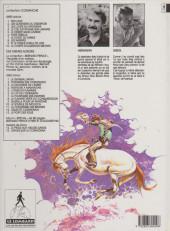 Verso de Comanche -10b1993- Le corps d'Algernon Brown