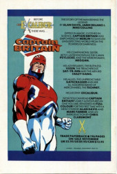 Verso de Death's Head (Marvel UK - 1988) -1- Issue # 1