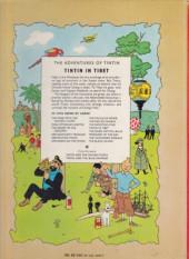 Verso de Tintin (The Adventures of) -20a1968- Tintin in Tibet