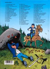 Verso de Les tuniques Bleues -12c2018- Les bleus tournent cosaques