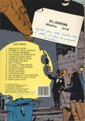 Verso de Gil Jourdan -11a1983- Chaud et froid - Le grand souffle