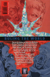 Verso de Planetary: Crossing Worlds (2004) - Planetary/The Authority: Ruling The World