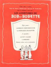 Verso de Bob et Bobette -2- La Princesse enchantée