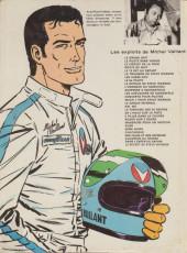 Verso de Michel Vaillant -18c1975'- De l'huile sur la piste !