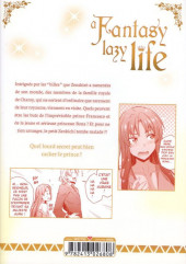 Verso de A Fantasy lazy life -5- Volume 5