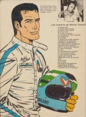 Verso de Michel Vaillant -20b1975'- Rodéo sur 2 roues