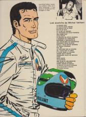 Verso de Michel Vaillant -11c1978- Suspense à Indianapolis