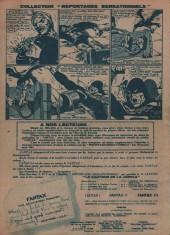Verso de Fantax (1re série) -7- La Torture du Corbeau