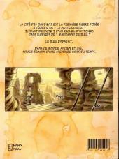 Verso de La geste du bleu -1- Acte 1 - la cité des gardiens