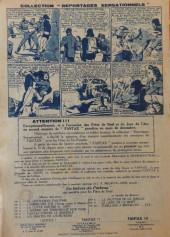 Verso de Fantax (1re série) -6- Les Pirates de l'Edelweiss