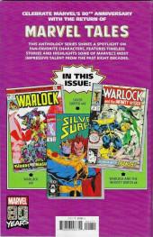 Verso de Marvel Tales Featuring (Marvel Comics - 2019) - Thanos #1
