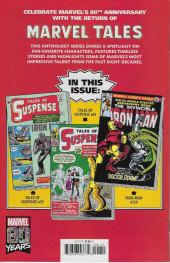 Verso de Marvel Tales Featuring (Marvel Comics - 2019) - Iron Man #1