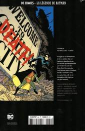 Verso de DC Comics - La légende de Batman -66- No man's land - 1re partie