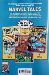 Verso de Marvel Tales Featuring (Marvel Comics - 2019) - Fantastic Four # 1